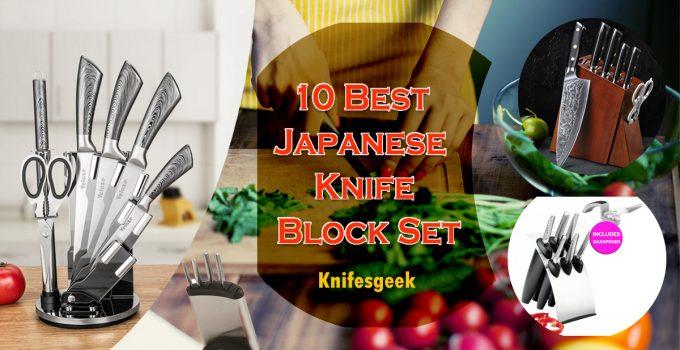 10 Best Japanese Knife Block Set