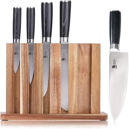 KYOKU Knife Block Set Chef Knife