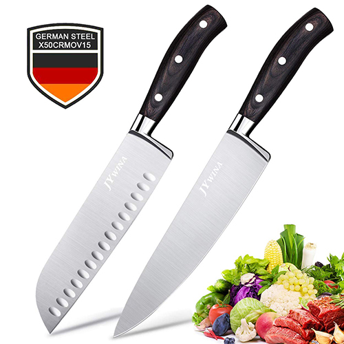 JYwina 2-Piece Ultra Sharp Chef Knives, Meat cutting Knife