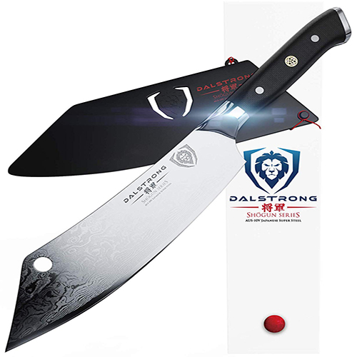 DALSTRONG Cleaver Hybrid Meat Knife