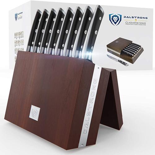 DALSTRONG Steak Knives Folding Block Set