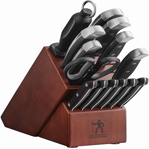 J.A. Henckels Knife Block Set