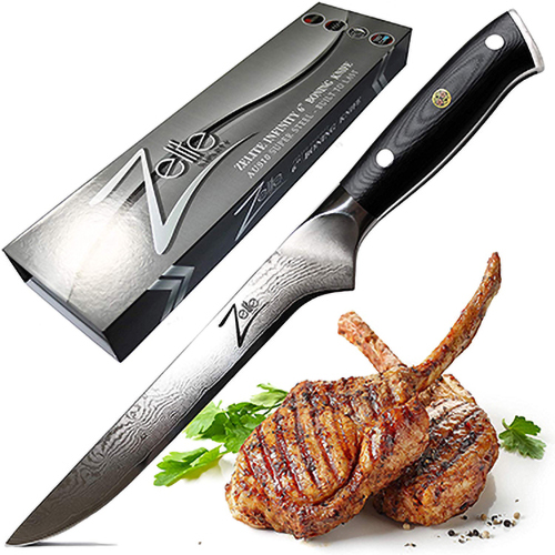 Zelite Infinity Boning Knife 6 Inch - Best Knife For Cutting Meat