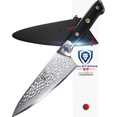 "DALSTRONG Japanese 6"" X Chef Knife - Best Japanese chef knife under 100"