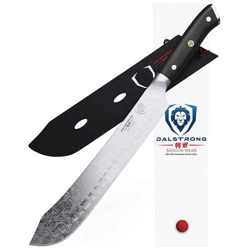 DALSTRONG Bull Nose Butcher Knife