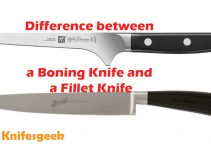 Difference between Boning Knife and Fillet Knife